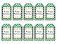 Gift Tags - Christmas Tags - Green Holiday Tags