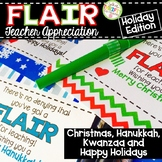 Gift Tags Christmas Teacher Appreciation Gift Tags Flair Pens HOLIDAY EDITION