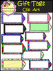 Gift Tags - Clip Art (School Designhcf)