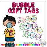 Bubble Gift Tags EDITABLE