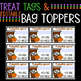 Gift Tags and Bag Topper Pumpkin Spice Nice Themed