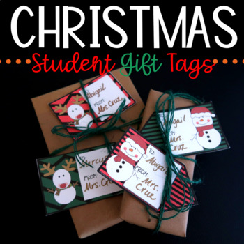 Gift Tags for Student Gifts