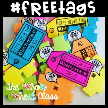 Gift Tags for Student/Staff Back to School Gifts