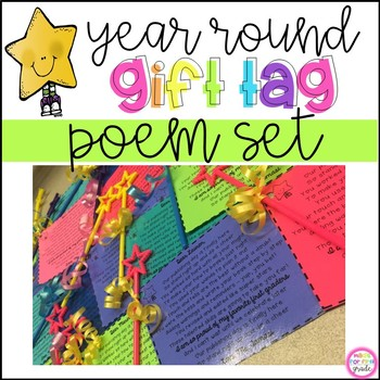 First Grade Poems Bundle: Back to School, Publishing, End of Year & More