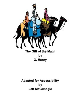 Autism Adapted Novel (PDF Color)  Gift of the Magi