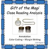 Gift of the Magi - Close Reading Analysis
