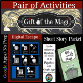Gift of the Magi Pair of Activities Great for Distance Learning