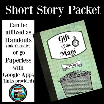 Gift of the Magi Reading Activities Printable and Google Apps