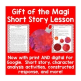 Gift of the Magi Short Story with Activities