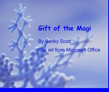Gift of the Magi Smartboard Activities
