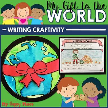 Christmas Winter Holiday Writing Craftivity