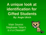 Gifted Education Presentation to Classroom Teachers, Gifte