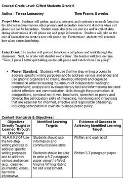 Gifted Education Research & Engineering {Bundle}