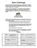 Gifted Enrichment Unit - Change and Continuity (Building a Business)