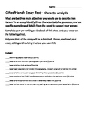 Gifted Hands Character Analysis Essay