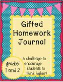 Gifted Homework Journal