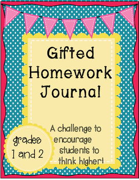 Gifted Homework Journal