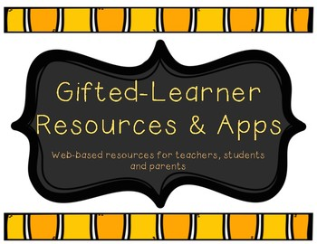 Gifted Learner Resources and Apps