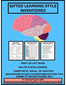 Gifted Learning Style Inventories