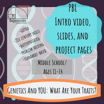 "Gifted Project-Based Learning: ""My Traits"": Genetics Project #10"