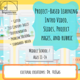 "Gifted Project-Based Learning: #7 from ""Roots"" Unit"