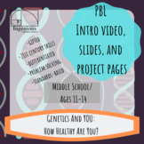 """Gifted Project-Based Learning: """"How Healthy Are You?"""" Project #14"""