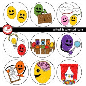 Gifted & Talented Icons by Poppydreamz