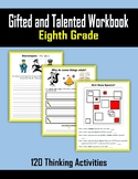 Gifted and Talented Activities - Eighth Grade