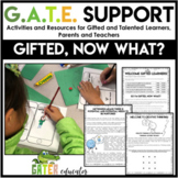 Gifted and Talented Projects and Activities | Differentiation Strategies