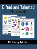 Gifted and Talented Activities - Third Grade
