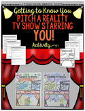 Gifted and Talented Activity - Pitch a Reality TV Show