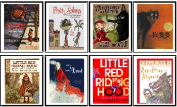 """Gifted and Talented Book Responses for """"Little Red Riding Hood"""""""