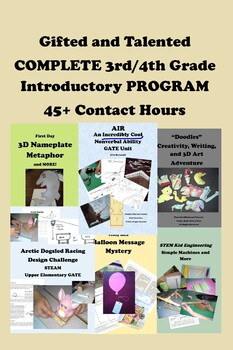 Gifted and Talented COMPLETE 3-4 Introductory Program - 45+ Contact Hours