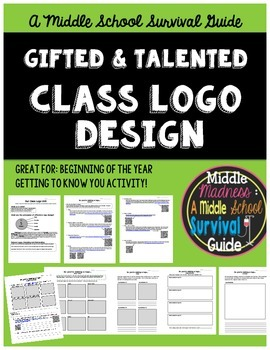 Gifted and Talented Unit - Class Logo Design