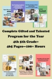 4th 5th +more COMPLETE PROGRAM Bundle Gifted and Talented