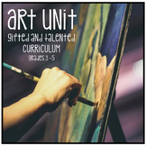 Distance Learning Gifted and Talented Curriculum - Art Unit Grades 3 4 5