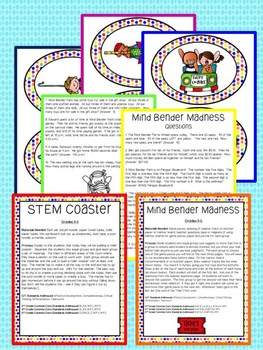 Gifted and Talented Curriculum - Carnival Roller Coaster Unit Third Fourth Fifth