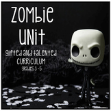 Gifted and Talented Curriculum - Not Scary Zombie Unit Thi