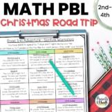 Math Enrichment Activity: Road Trip Vacation (Christmas)