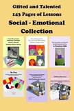 Gifted and Talented GATE Social-Emotional Bundle 143 Pages!