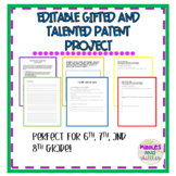 Gifted and Talented Patent Project