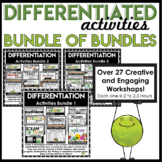 Differentiated Instruction Strategies | Gifted and Talented Activities BUNDLE