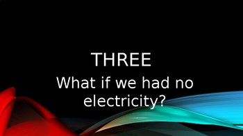 Gifted and Talented Science Questions Powerpoint