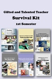 Gifted and Talented SURVIVAL KIT Bundle 1st Semester - 33% Discount, 230+ pages!
