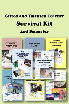 Gifted and Talented SURVIVAL KIT Bundle 2nd Semester -- 285 pages, 40% off!