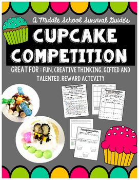 Gifted and Talented Social Event- Cupcake Competition