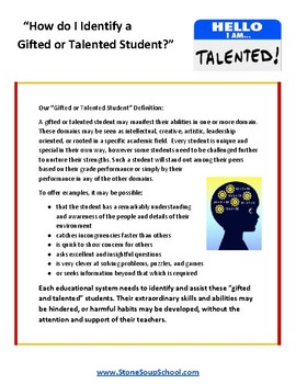 Gifted and Talented Teaching Strategies
