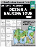 Gifted and Talented Unit - Design A Walking Tour