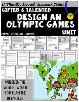 Gifted and Talented Unit - Design Your Own Olympic Games
