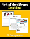 Gifted and Talented Activities - Seventh Grade
